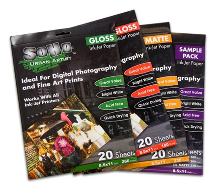 Ideal for Digital Photography and Fine Art Prints.
