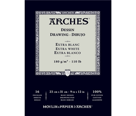 Arches Drawing Paper - Extra White