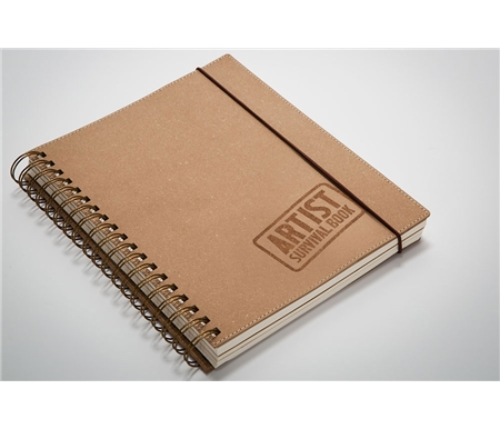 Perfect for Artistic Journaling, carrying in a purse, briefcase or backpack, holding more than just sketches and ideas, also holds business cards, receipts and loose papers.