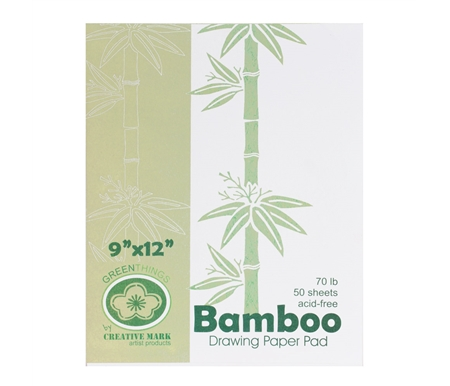 Green Things Bamboo Drawing Paper Pads