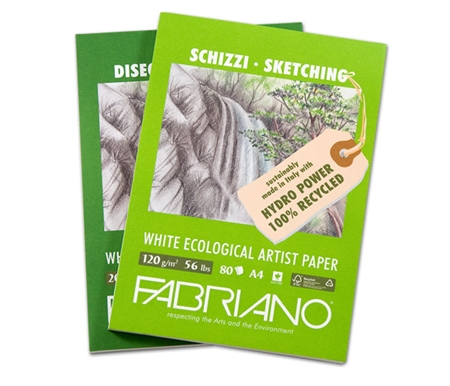 Eco White is the whitest recycled art paper available!
