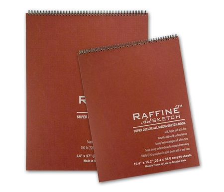 Raffiné ArtSketch Super Deluxe Sketchbooks and Sheets