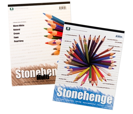Now this popular art paper is available in pads convenient for travelling or for small works!