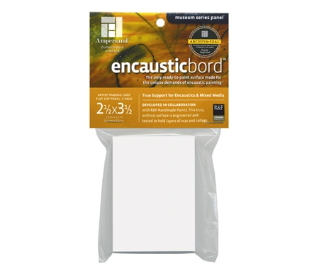 The innovative Encausticbord surface is ready to use and requires no preparation!