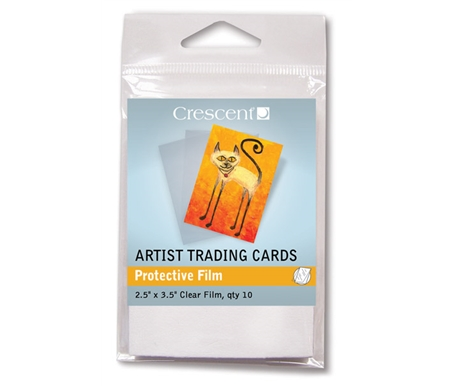 Artist Trading Card Protective Adhesive Film