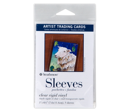 Protect your ATC artwork with these durable sleeves!