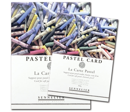 La Carte Pastel Paper was the very first product developed especially for pastel painting!