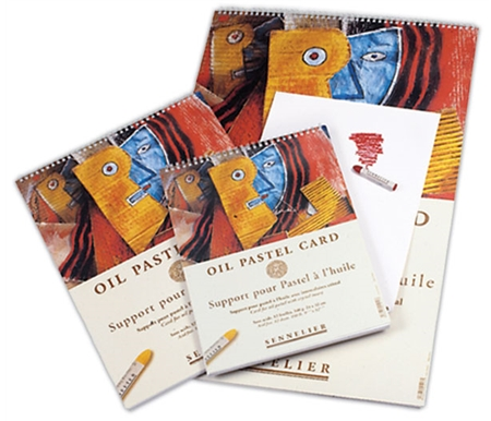 These paper pads are designed specifically to be used with Sennelier Oil Pastels.