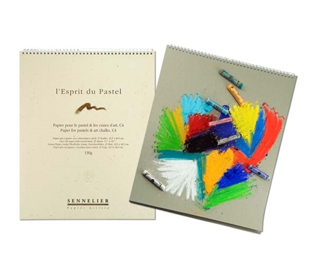 This wonderful paper is great  for pastels and art chalks.