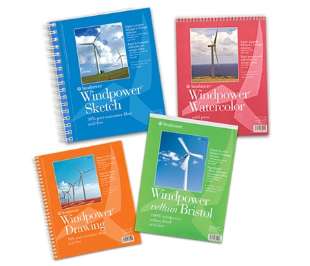 Each pad is made with 100% windpower!
