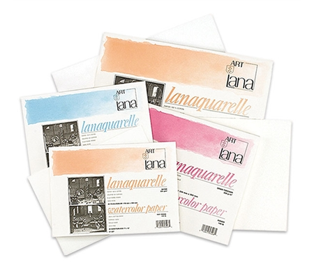 Lanaquarelle Watercolor Paper Blocks