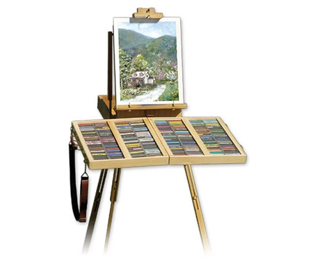 Turns your French easel into the ideal pastel workstation.