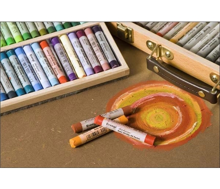 Erengi Oil Pastels are superb for use on canvas, paper, panels and more!