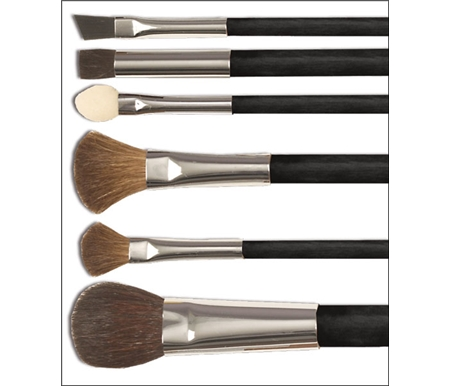 This Petite Set of professional pastel blending brushes perform a multitude of tasks.
