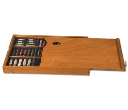 These all wood Pastel-Pod Docking Station drawers replace your French easel drawer in seconds!