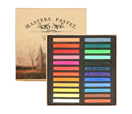 Masters Water-Soluble Pastel Painting Sticks - Set of 24