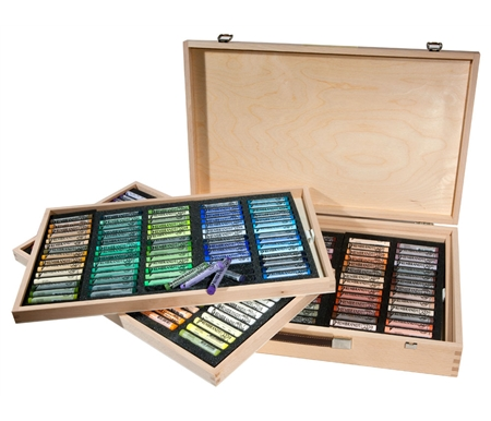 225 Color Wood Box Set