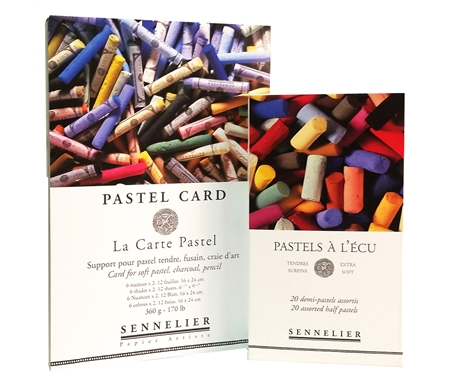 Sennelier Soft Pastel and La Carte Pad Set