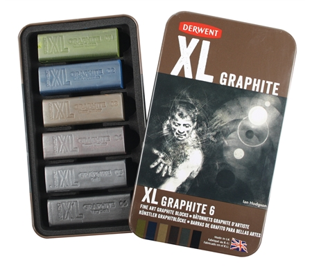 Derwent XL Graphite 6 pack