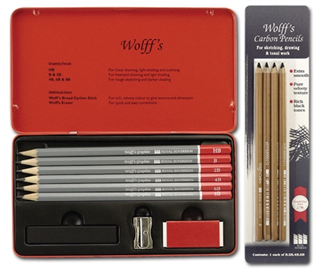 This set is great for sketching, drawing and tonal work!