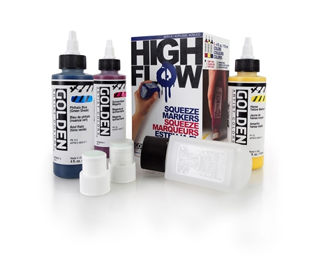 Golden High Flow Acrylic Marker 4 oz. Mop Set