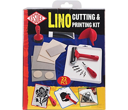 Everything needed to create your own Lino art!