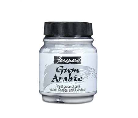 Gum Arabic produces a glossy, easy-to-brush paint.