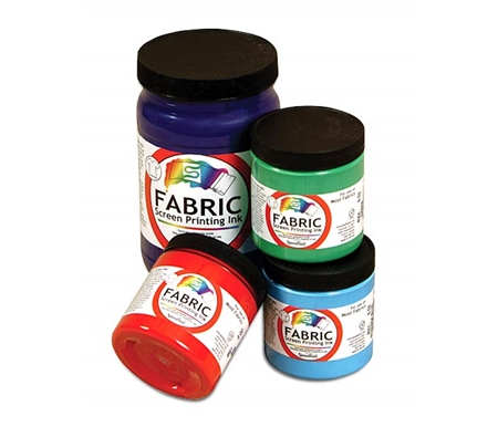 These water-based inks clean up easily!