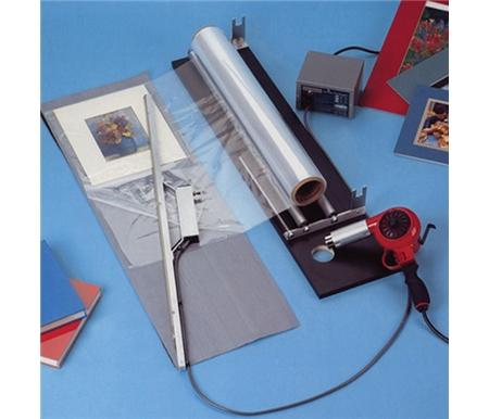 The Clearmount Shrink Wrapping System provides you with an easy, reliable and inexpensive way of protecting your artwork, photography or products.