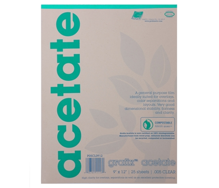 Graphix Acetate Pad
