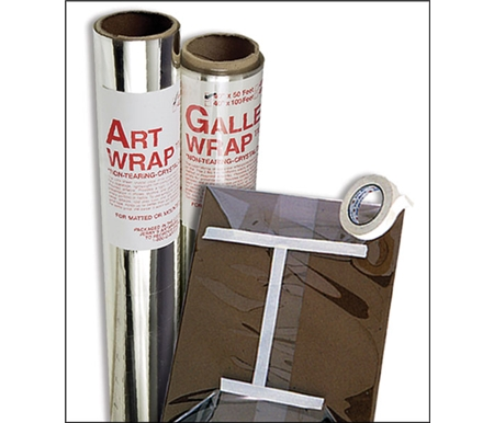 Allows the artist to tightly wrap any piece of art work and is safe to use for prolonged storage.