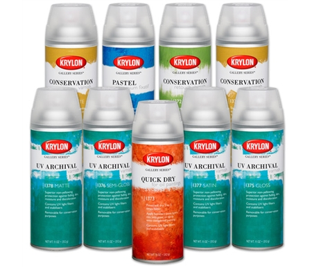 Each Krylon Gallery Spray provides the highest quality protection for all of your projects.