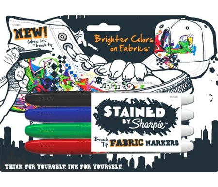 Sharpie Stained Fabric Markers - Set of 4