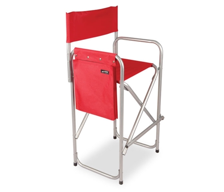These chairs are made of powder coated aluminum with reinforced construction and easy to clean nylon material.