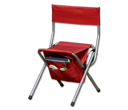 Not only does it provide the perfect seat, you can even pack supplies or a drink in its handy bag.