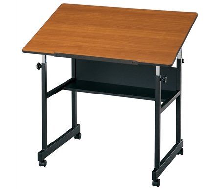 A sturdy, 4-post steel table that is perfect for art, hobby, crafts and graphic arts