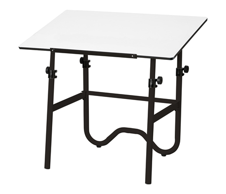 The Alvin Onyx drafting and drawing table is perfect for home, office, and dormitory