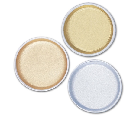 These beautiful watercolors are available in 3 colors in 2¾ round porcelain dishes.