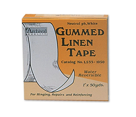 This tape is still the most often used product by conservation and preservation professionals.