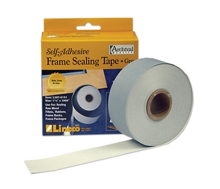 This tape features foil backing to seal out both dirt and moisture.