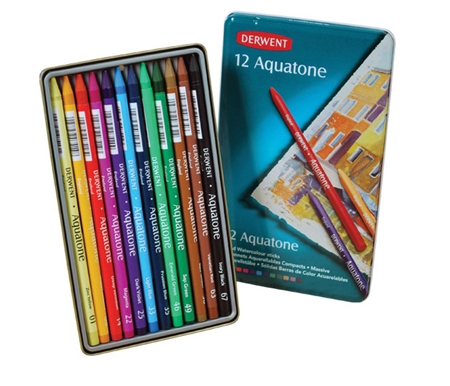Derwent Aquatone Woodless Watercolor Pencil Sets