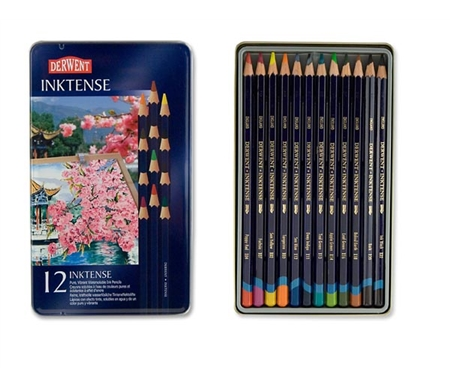 Derwent Inktense Set of 12 Colors