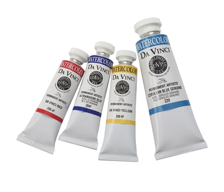 Da Vinci uses the highest quality ingredients in every formula and produces artists\' colors of high-tinting strength and excellent quality.