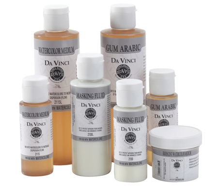These mediums are produced with the same high-quality standards found in Da Vinci Watercolors.