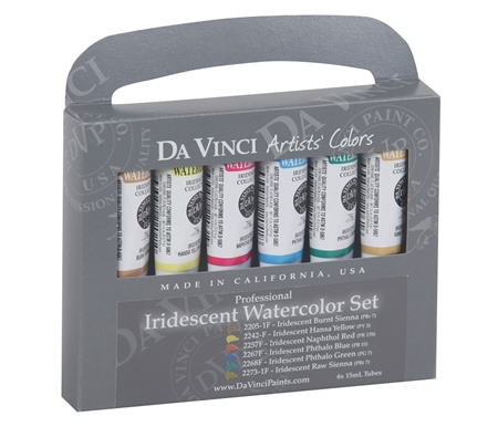 Iridescent Watercolor Set