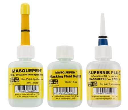 UK Masquepen Super Set - Includes 1 Masquepen, 1 Supernib and 1 Refill