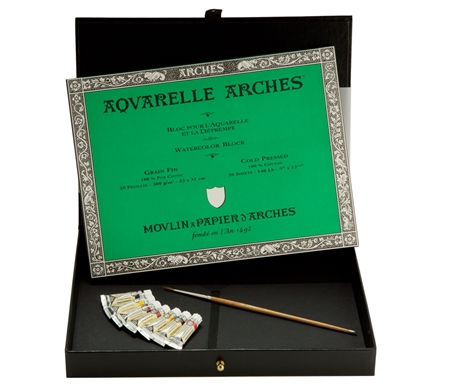 Arches/ Rembrandt Extra-Fine Artists' Watercolor Giftbox