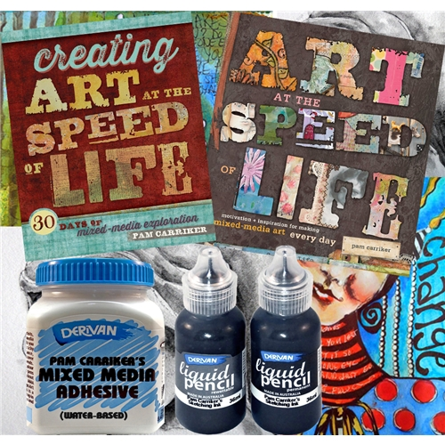 Enjoy all of Pam Carriker\'s products and publications with her complete kit!