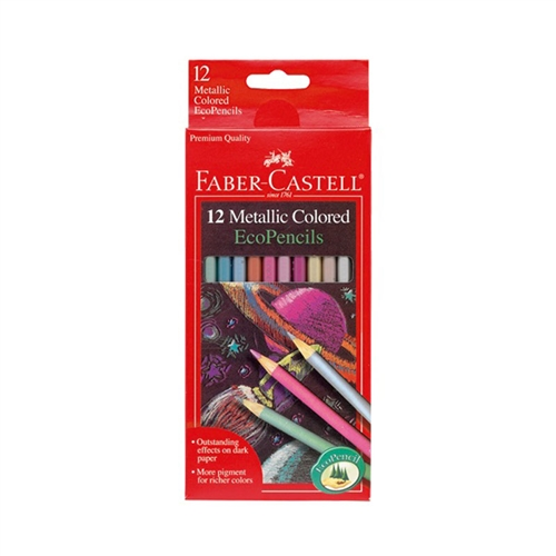 Metallic Colored EcoPencils (set of 12)