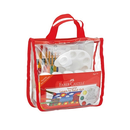 Faber-Castell Young Artist Learn to Paint Set